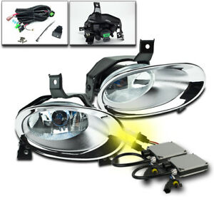 2010 2011 Honda Cr V Front Bumper Chrome Driving Fog Lights Lamp 3000k Xenon Hid