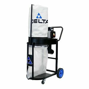 Delta 50 723 1hp Motor Extreme Mobile Dust Collector 750cfm New