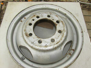 Dodge 3500 1 Ton 94 95 96 97 98 99 Oem Steel 8 Lug 16 X 6 Rim Dual Wheel Used