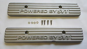 Ford Powered By Svt Coil Cop Covers 99 04 Cobra 03 04 Mach1 97 98 Mark 8 Gt500