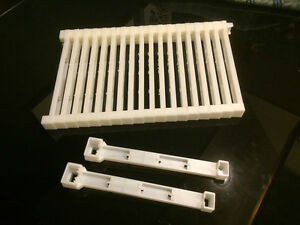 Bee Frame Plastic Ends Deep 9 1 8 20 Pc Made In U s a