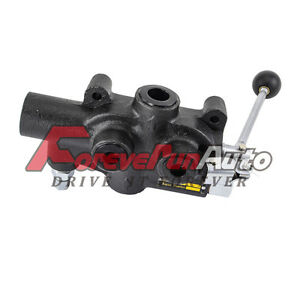 Hydraulic Log Splitter Control Valve With Return Stroke Detent 9 7724
