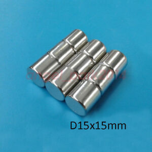 Wholesale D15 X15mm Strong Round Rare Earth Neodymium Countersunk Magnets N50