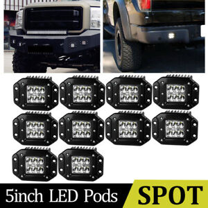 Offroad 42 560w Curved Led Light Bar 22in Combo 4inch Pods Driving Truck Suv