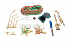 Welding Torch Kit Medium Duty Oxy acetylene Gas Deluxe Victor Type Blow Torch