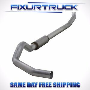 Diamond Eye 5 Turbo back Exhaust For 04 5 07 Dodge Cummins 5 9l K5238a