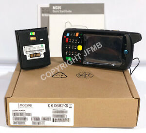 New Symbol Motorola Mc65 Barcode Scanner Mc659b pd0baa00100 Gps Imager Wm6 5
