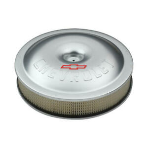 Proform Air Cleaner Assembly 141 693 Gm Performance Aluminum Round 14 X 3