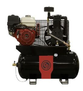 Chicago Pneumatic 13 Hp Air Compressor Two Stage Gasoline Rcp 1330g