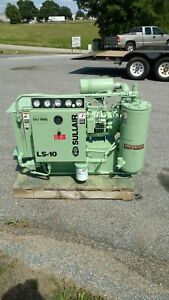 Used 25 hp Sullair Ls 10 Rotary Air Compressor