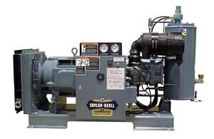 New Saylor beall 40 Hp 166 Cfm Rotary Screw Air Compressors