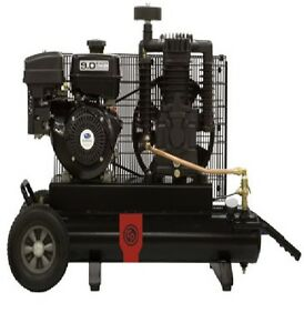 New Chicago Pneumatic 9 Hp Air Compressor Two Stage Gasoline Rcp 908r