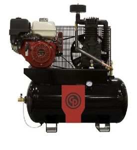 New Chicago Pneumatic 9 Hp Air Compressor Two Stage Gasoline Rcp 930g