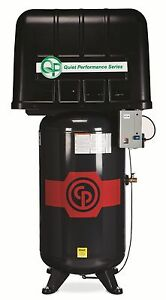 New Chicago Pneumatic 5 Hp Air Compressor Two Stage Quiet Enclosed Rcp 581vqp