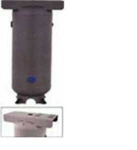 New 120 Gallon Vertical Air Tank 6 in Base Ring And 15 x39 Top Plate A10047