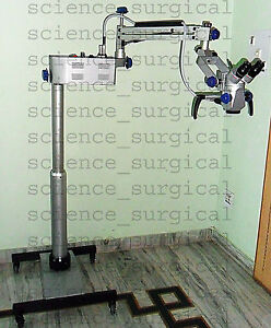 Surgical Operating Microscope Ent Zoom With Beam Splitter