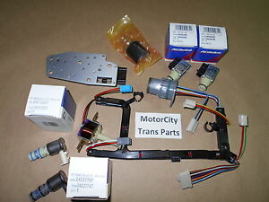 Gm 4l60 Transmission Solenoid Kit Master Epc Shift Tcc Pwm 3 2 1996 2002