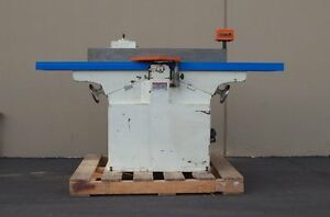 2001 Pom Ch 660 12 Jointer woodworking Machinery
