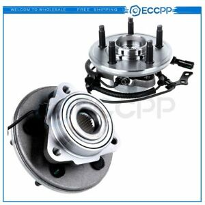 2 New Wheel Hub Bearing Assembly Front Pair Set For 06 10 Mountaineer Explorer