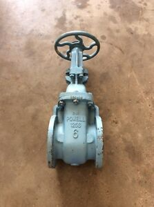 Powell 6 Gate Valve Fig 1893 Class 125 3 Ni Gate