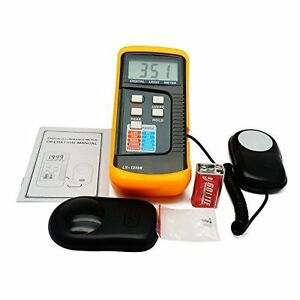 Digital Light Meter 0 200 000 Lux Tester Fc Photo Camera Luxmeter 4 Range Lux