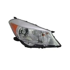 Right Side Headlight Assembly For 2012 2013 Toyota Yaris Hatchback L le ce