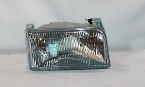 Right Side Headlight Assembly For 1992 1998 Ford F Series 9th Generation