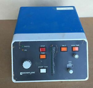 Reichert jung 6526 0 Controller Photo Exposure Camera Unit For Microscopes 110
