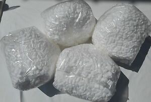 4 White 8 0 Gallon Bag Of New Clean Packing Peanuts Fast Free Ship