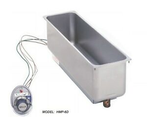 Wells Hmp6du6 120v Built in Rectangular Food Warmer W Thermostat Control New