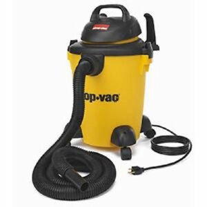 Shop vac 5950600 6 Gallon 3 Peak Hp Pro Wet And Dry Rolling Vacuum New