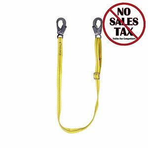 Fall Safety Harness Lanyard Positioning Strap Protection Body Work Construction