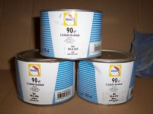 Glasurit 90 Line 98 m930 500ml Graphitan Water Basecoat Basf Mixing Tinter