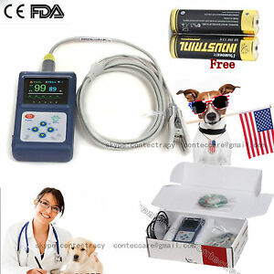 Fda Veterinary Vet Animals Pulse Oximeter Spo2 Monitor Cms60d vet batteries us