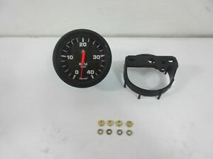 Faria Black 3 1 4 In Gauge Tachometer 4000 Rpm Mechanical Diesel Marine Boat
