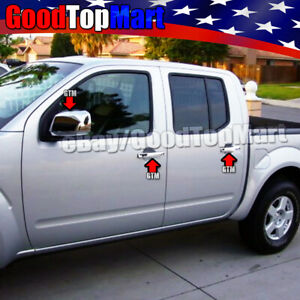 For Nissan Frontier 2005 2015 2016 Chrome Covers Set Full Mirrors 4 Doors W o