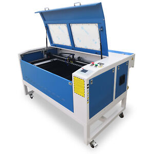 Reci100w Laser Cutting engraving 900mm 600mm Machine For Acrylic plastic leather
