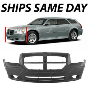New Primered Front Bumper Cover Replacement Fascia For 2005 2007 Dodge Magnum