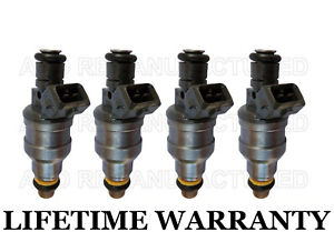 4x Bosch Fuel Injectors For Dodge Chrysler Mitsubishi Plymouth 2 0l 0280150965
