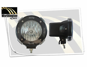 Hid 918 Off Road Light 4x4 Flood Beam 4700lumens 6000k Super White Rock Guard