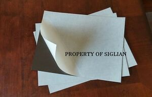 12 Self Adhesive Flexible Magnetic Sheets 9 X 12 Inches