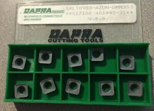 Dapra Cutting Tools Sxlt0903 Azun Dmm353 S17108 Carbide 10 Inserts Turning Lathe