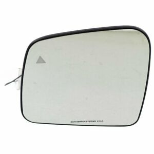 New Mirror Glass Driver Left Side Heated Lh Hand Jeep Grand Cherokee 68082639ab