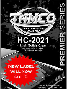 Hc 2021 High Solids Urethane Clear Compare And Save Here Instead Of Ppg Version