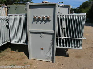 Ge 1500 Kva 13800 X 480 277 V Substation Transformer T208