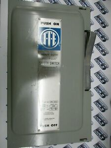 Ite imperial Sn323 100 Amp 240 Volt 1p3w Fusible Vintage Disconnect New s