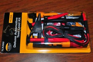 Fluke Tlk282 Suregrip Master Deluxe Automotive Test Lead Kit