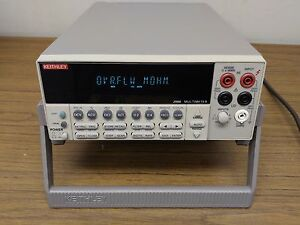 Keithley 2000 Multimeter With 10 Channel Scan Card