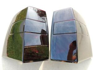 Custom 07 17 Ford Expedition Smoked Tail Lights Oe Black Tinted Non Led Painted