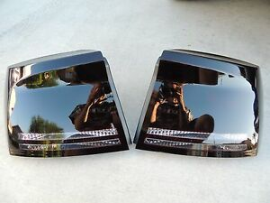 06 10 Charger Painted Smoked Tail Lights Black Factory Custom Oem Tinted Non Led